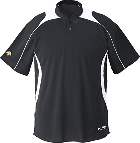 DESCENTE(デサント) 野球 立衿2ボタンベースボールシャツ ホワイト Mサイズ DB110B