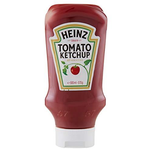 Heinz Tomato Ketchup Top Down 570g (10 Confezioni)