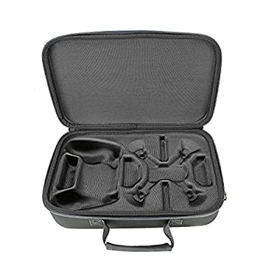 Carrying Case for DJI Tello - Hardshell Box Suitcase Shoulder Bag for Tello EDU Quadcopter Drone and Remote Controller Accessories