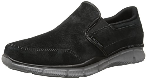 Skechers Herren EqualizerMind Game Sneakers , Schwarz ( Black), 45 EU