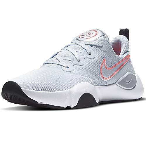Nike SpeedRep Women's Training Shoe, Entrenador Mujer, Grigio Rosa, 38 EU