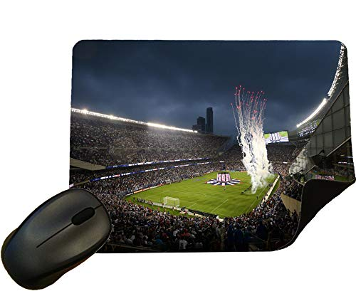Chicago Fire Football Crowd Mouse Mat/Mouse Pad by Eclipse Gift Ideas - Design 1