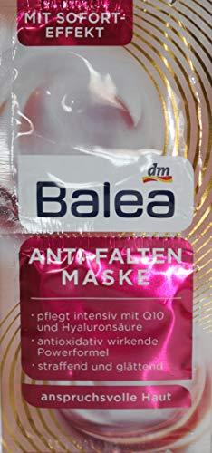 Balea Anti Falten Maske Q10 10er Packung für 20 Anwendungen