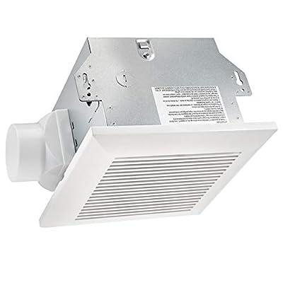 amazon basics AB-BV101 an Housing x1 B Grille C Wood (M4x30mm) D Machine Screw (M4x12mm) E Suspension Air ventilation fan, 3-inch Outlet, 70 CFM, 7-Inch Length, White