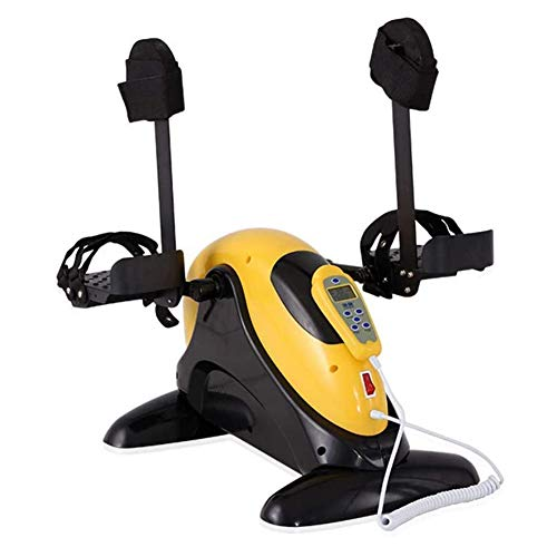 Elektrische onder bureaufiets Mini draagbare pedaalfiets Hometrainer Arm- en beenfiets Hometrainer met LCD-scherm Fietstrainer Zonder weerstand