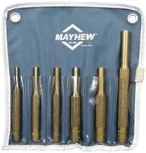 Mayhew 67006 Brass Punch 6 Piece