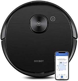 Ecovacs DEEBOT OZMO T8 AIVI Robot Que aspira y friega 2 en 1, navegación y detección Inteligente de Objetos, con Google Ho...