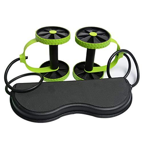 Uteruik Herren Damen Fitness Bauchtrainer ABS Workout Kit Widerstandsbänder Übungen Multifunktions Crossfit Übungen
