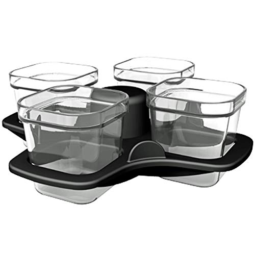 An image of the SPARES2GO Baking Cup Set for Tefal Actifry Air Fryer