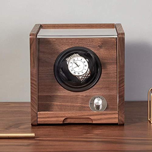 FCWMD Caja de Almacenamiento de Reloj de diseño automático, agitador de Reloj mecánico para el hogar, Plataforma giratoria, Swinger, Plataforma giratoria