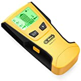 Dr.meter Fi-1 Backlight Stud Metal AC Wire Scanner Wall Stud Finder Electronic StudSensor (Yellow)