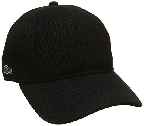 Lacoste Herren RK0123 Baseballkappe, Schwarz (schwarz), 58