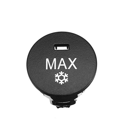 Phoenix set OFF/Rest/Max Car Heater Climate Control Knob Panel Air Conditioner Button Switches Repair Cap Cover Fit For BMW 5 Series E60 E61 (Color : MAX)