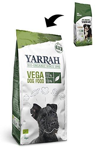 Yarrah Litière Chien Nourriture Bio Végétarien 2 kg (Lot de 2)