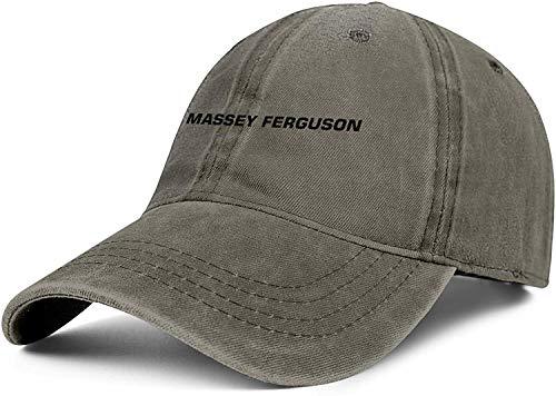 MaryAPerez Men/Womens Massey-Ferguson-Logo- Adjustable Peaked Cap 3D Printing Baseball Hat,Massey Ferguson Logo-7,One Size