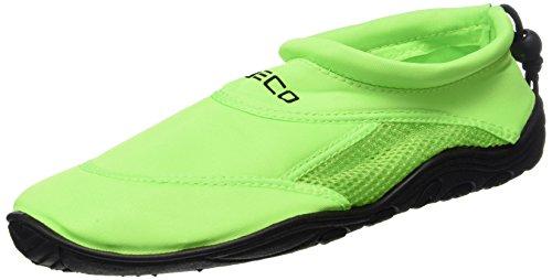 Beco Surf-und Badeschuhe-9217 Badeschuhe, Grün, 47