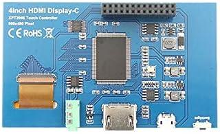 YASE-king 4.0 Inch LCD HDMI Press Screen Display TFT LCD Panel Module 480x320 for Raspberry Pi 4B Raspberry Pi 3 Model B/B+