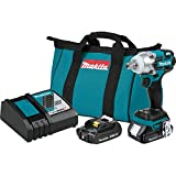 Makita XWT11R 18V LXT Lithium-Ion Compact Brushless Cordless 3-Speed 1/2' Impact Wrench Kit
