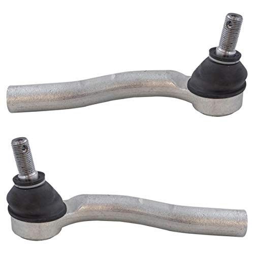 Front Outer Tie Rod End Pair Driver & Passenger Sides Compatible with Honda CR-V CRV New