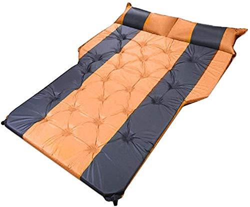 N\A ZT Auto Car Inflatable Bed SUV Car Mattress Rear Row Car Travel Sleeping Pad Off-road Air Bed Camping Mat Air Mattress Airbed,Inflatable Mattress Car Car Inflatable Mattress Bed (Size : Silver)
