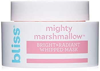bliss - Mighty Marshmallow Face Mask | Brightening & Hydrating Face Mask| Vegan | Cruelty Free | Paraben Free | 1.7 fl oz.