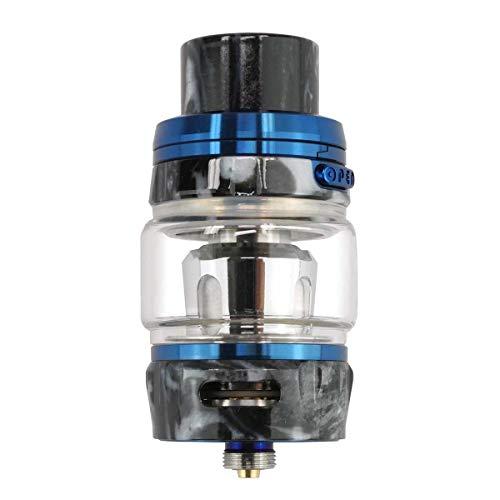GeekVape Alpha Tank Clearomizer 4 ml, Diameter 25 mm, MeshMellow Coil System Vaporiser for E-Cigarette, Blue Onyx Resin, Pack of 1