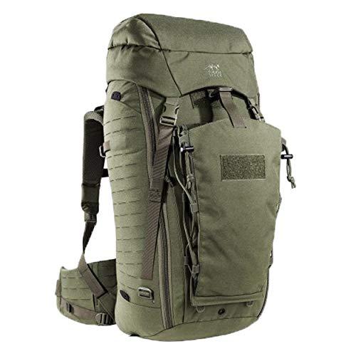 Tasmanian Tiger TT Rucksack Modular Pack 45+ Molle-Kompatibler Backpacker Outdoor-Rucksack Abschließbar 50L Volumen, Oliv