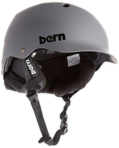 Bern Watts Eps Matt Grey W/Crankfit Helm M