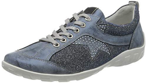 Remonte R3400, Sneakers Basses Femme, Bleu (Royal/Tinte/Adria/Argento 14), 41 EU
