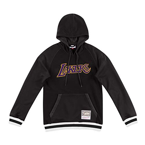 Mitchell & Ness Los Angeles Lakers Gametime Pullover NBA Hoodie Schwarz, XL