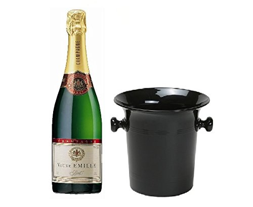 Veuve Emille Champagner Brut in Champagner Kübel 12% 0,75 l Flasche
