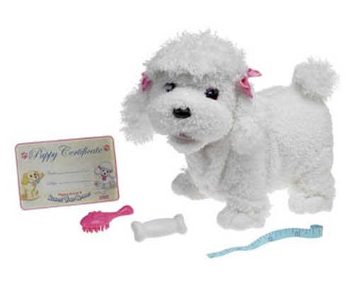 Fisher-Price Puppy Grows and Knows Your Name White