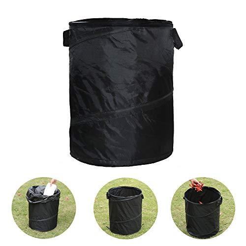 CLII Outdoor Faltbare Tragbare Mülleimer, Auto Aufbewahrungstasche Umweltfreundliche Und Langlebige Oxford Stoff Camping Barbecue Müllsack Rasen Garten Müll Aufbewahrungsbox
