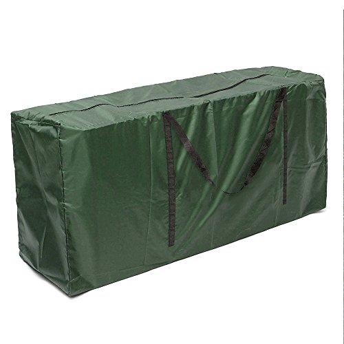 ZhongYeYuanDianZiKeJi Bolsa de Almacenamiento Cojines Jardin Ligera Impermeable para Guardar Cojín Muebles Otros Accesorios de Jardín Patio(Verde) (116)