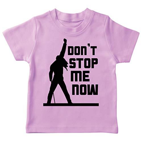 lepni.me Maglietta per Bambini Don't Stop Me Now! Camicie dei Fan, Regali di Musicisti, Vestiti Rock (12-13 Years Rosa Multicolore)