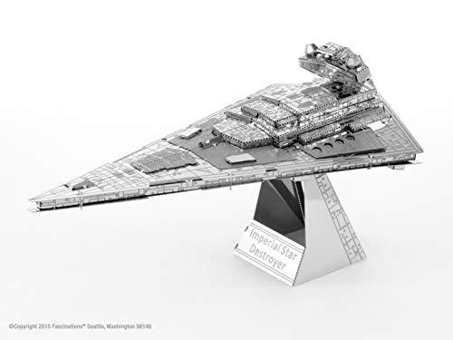 Fascinations Metal Earth MMS254 - 502652, Star Wars Star Destroyer, Konstruktionsspielzeug, 2 Metallplatinen, ab 14 Jahren