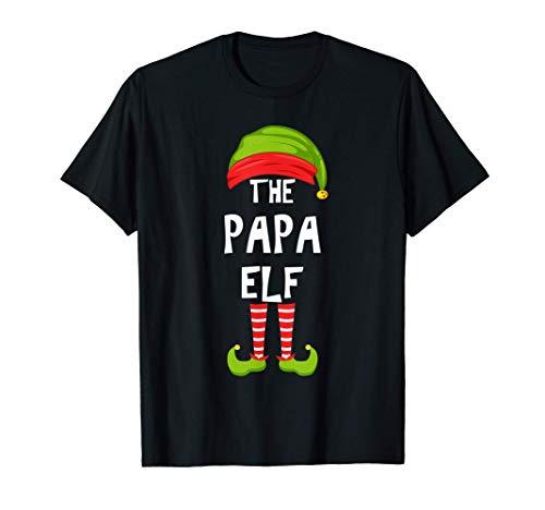 Fiesta familiar de Navidad de Papá Elfos Regalo de grupo de Camiseta