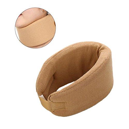 ROSENICE Neck Braces Collar Medical Neck Unterstützung Neck Guard für Hals und Schulter Spannung Größe M (Khaki)