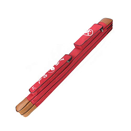 Juego de espadas de Tai Chi,tejido grueso de tendón de res de una sola capa,bolsa de espada de doble capa,artes marciales multifuncionales,adecuado para Tai Chi,papel de aluminio,sable,espada y sable