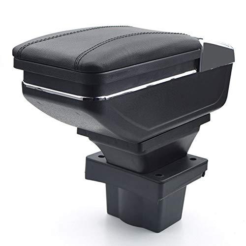 Für Skoda Octavia A5 Yeti 2007-2014 Armlehnebox Mittelkonsole mit Aufbewahrungsbox Mittelarmlehne Schwarz