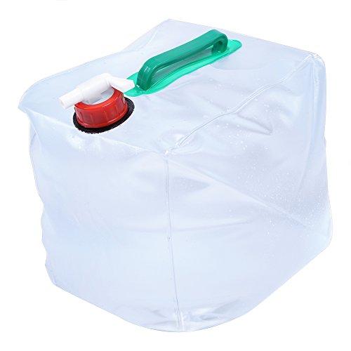 Rucksack Wasser 10L/20L Nachhaltige Hohe Kapazität faltbar für Wassertank für Camping Wandern Picknick im Freien, 10L