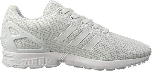 adidas Unisex-Kinder ZX Flux Sneaker, Weiß (Footwear White/Footwear White/Footwear White), 35 EU