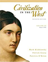Civilization in the West, Volume 2 (since 1555) (7th Edition)