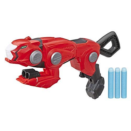 Power Rangers Beast Morphers – Blaster Transformable du Ranger Rouge