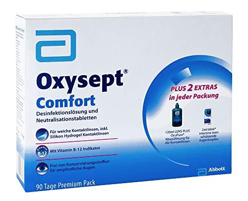Oxysept Comfort 90 Tage Premium Pack Kombipackung, 1 P - 2