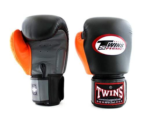 Twins Special Boxing Guantes de cuero MMA UFC Muay Thai Kick