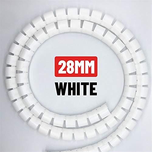 Administrador de cable Tubo 1M 3Meter 5M cable de alambre del organizador...