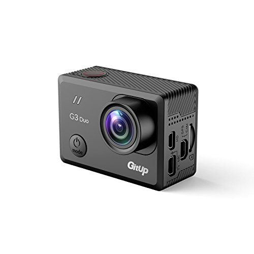 GitUp G3 Duo 2K Action Camera with WiFi and 170 Degree Lens - Pro Pack - Main Camera Only