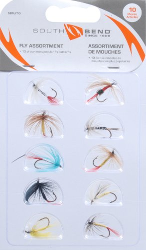 South Bend Fly Assortment, 10-Pack