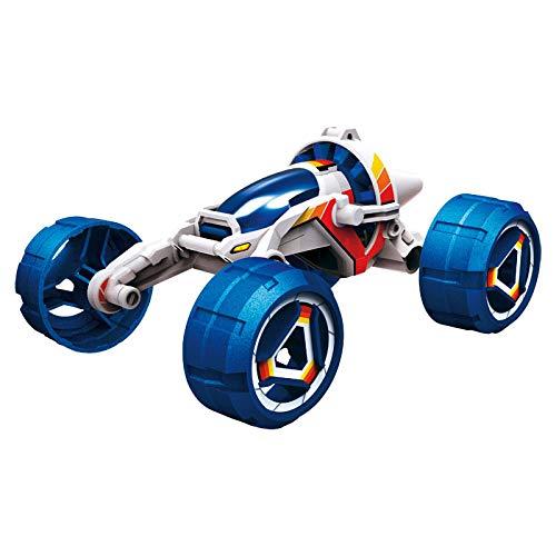 SELVA Bausatz BOB CAR – 29-teilig – Mit Salzwasser-Brennstoffzelle – Besonders für Kinder bestens geeignet – Umweltfreundlicher Antrieb – Fährt ca. 5-7 Stunden – Maße: 12 x 6 x 9 cm – C336129
